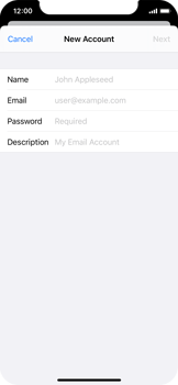 Apple iPhone 11 Pro - Email - Manual configuration - Step 7