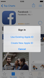 Apple iPhone 5c - Applications - setting up the application store - Step 9