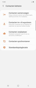 Samsung Galaxy Z Flip Single-SIM + eSIM (SM-F700F) - Contacten en data - Contacten kopiëren van SIM naar toestel - Stap 6
