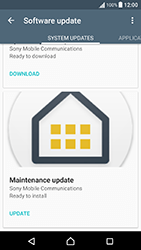 Sony Xperia X Performance (F8131) - Device - Software update - Step 7