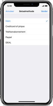 Apple iPhone SE (2020) (Model A2296) - Applicaties - Aankopen doen in de App Store met je KPN abonnement - Stap 6