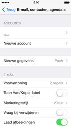 Apple iPhone 5 met iOS 7 - E-mail - Handmatig instellen - Stap 16