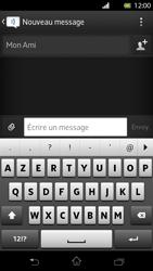 Sony LT30p Xperia T - MMS - Envoi d