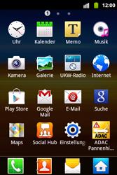 Samsung S5690 Galaxy Xcover - Apps - Konto anlegen und einrichten - Schritt 3