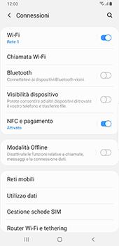 Samsung Galaxy Note9 - Android Pie - WiFi - Attivare WiFi Calling - Fase 6