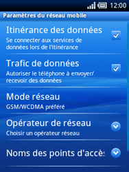 Sony Ericsson Xperia X10 Mini Pro - Internet - configuration manuelle - Étape 6