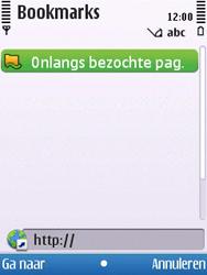 Nokia 6700 slide - internet - hoe te internetten - stap 4