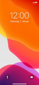 Apple iPhone X - iOS 13 - Gerät - Einen Soft-Reset durchführen - Schritt 4
