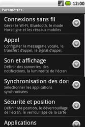 Samsung I5700 Galaxy Spica - MMS - configuration manuelle - Étape 4
