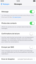 Apple iPhone 6 iOS 10 - iOS features - Envoyer un iMessage - Étape 5