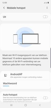 Samsung galaxy-note-10-dual-sim-sm-n970f - WiFi - Mobiele hotspot instellen - Stap 12