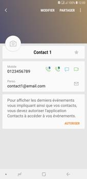 Samsung Galaxy J4+ - Contact, Appels, SMS/MMS - Ajouter un contact - Étape 14