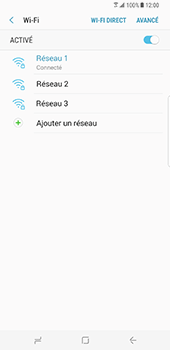 Samsung Galaxy S8 Plus - WiFi - Configuration du WiFi - Étape 9