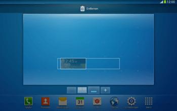 Samsung Galaxy Tab 3 10-1 LTE - Startanleitung - Installieren von Widgets und Apps auf der Startseite - Schritt 8
