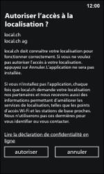 Nokia Lumia 800 / Lumia 900 - Applications - Installation d