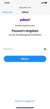 Apple iPhone 11 - iOS 14 - E-Mail - 032b. Email wizard - Yahoo - Schritt 7
