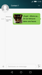 Huawei P8 Lite - MMS - Envoi d
