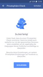 Samsung Galaxy S7 - Datenschutz und Sicherheit - Datenschutzeinstellungen von Facebook ändern - 19 / 35