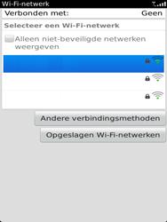 BlackBerry 9810 Torch - wifi - handmatig instellen - stap 6