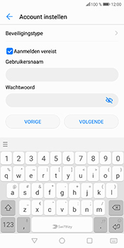 Huawei P Smart (Model FIG-LX1) - E-mail - Account instellen (IMAP met SMTP-verificatie) - Stap 16