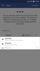 Samsung Galaxy S7 - Privacy - Privacy instellingen van Facebook aanpassen - Stap 17