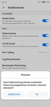 Huawei P20 - Ausland - Im Ausland surfen – Datenroaming - 8 / 11