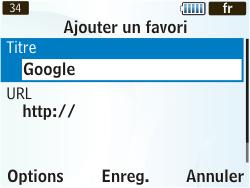 Samsung S3350 Chat 335 - Internet - Navigation sur Internet - Étape 7