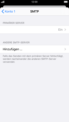 Apple iPhone 7 - iOS 13 - E-Mail - Manuelle Konfiguration - Schritt 17