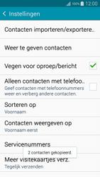 Samsung A500FU Galaxy A5 - Contacten en data - Contacten kopiëren van SIM naar toestel - Stap 12