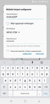 Samsung Galaxy A7 (2018) - Internet - mijn data verbinding delen - Stap 9