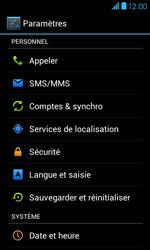 Bouygues Telecom Bs 401 - Aller plus loin - Restaurer les paramètres d'usines - Étape 4