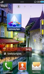 Samsung S8530 Wave II - Voicemail - handmatig instellen - Stap 1