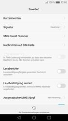 Huawei P9 - SMS - Manuelle Konfiguration - Schritt 7