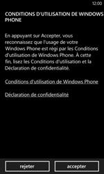 Nokia Lumia 625 - Premiers pas - Créer un compte - Étape 4