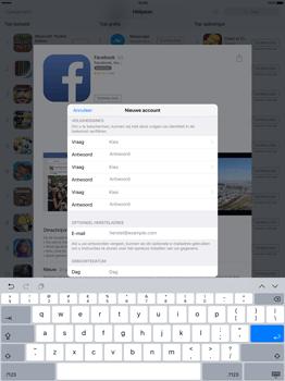 Apple iPad Pro 12.9 inch met iOS9 (Model A1652) - Applicaties - Account aanmaken - Stap 12