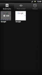 Sony LT22i Xperia P - Internet - Internet browsing - Step 7
