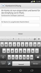 Sony Xperia Z - E-Mail - Manuelle Konfiguration - Schritt 14