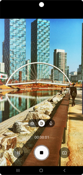 Samsung Galaxy Note 10 - Photos, vidéos, musique - Créer une vidéo - Étape 11