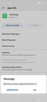 Huawei Nova 5T - Apps - Eine App deinstallieren - Schritt 7