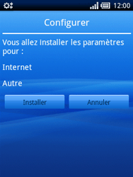 Sony Xperia X10 Mini Pro - Internet - Configuration automatique - Étape 4