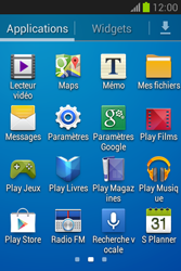 Samsung Galaxy Fame Lite - Applications - Installation d