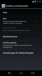Motorola XT890 RAZR i - Netzwerk - Netzwerkeinstellungen ändern - Schritt 5