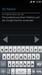Sony Xperia J - Apps - Einrichten des App Stores - Schritt 7