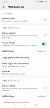 Huawei P30 Pro - Internet und Datenroaming - Prüfen, ob Datenkonnektivität aktiviert ist - Schritt 5