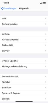 Apple iPhone 11 Pro - iOS 14 - Startanleitung - So fügen Sie eine Tastatursprache hinzu - Schritt 4