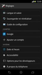 Sony Xperia V - Logiciels - Installation de mises à jour - Étape 5