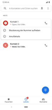 Nokia 6.1 Plus - Android Pie - Anrufe - Anrufe blockieren - Schritt 8