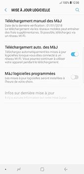 Samsung Galaxy Note9 - Logiciels - Installation de mises à jour - Étape 6