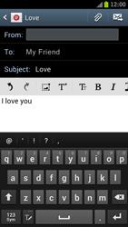 Samsung I9300 Galaxy S III - E-mail - Sending emails - Step 9