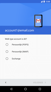 Huawei Google Nexus 6P - E-mail - Account instellen (POP3 zonder SMTP-verificatie) - Stap 11